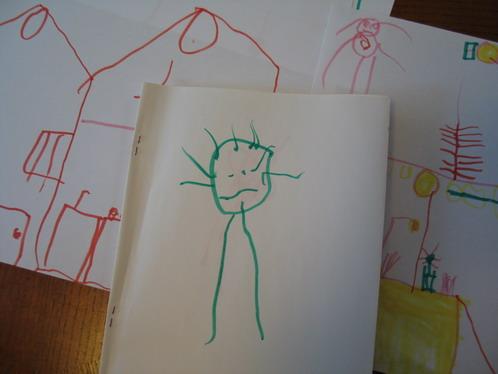 barnteckningar