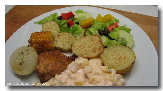 potatis,salsa,