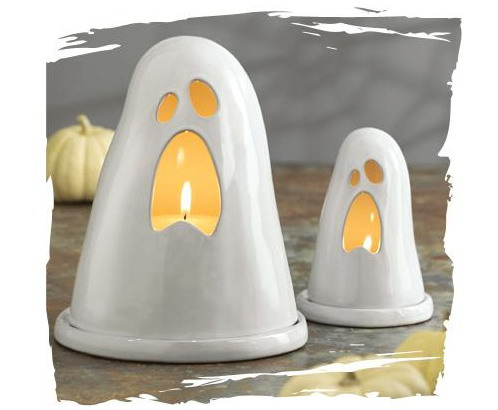 Terracotta Ghost Lanterns