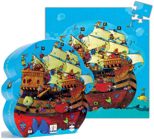 Piratskeppspussel