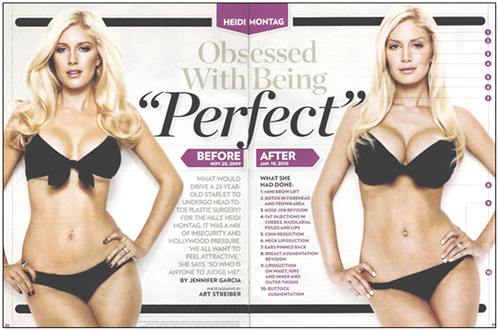 Heidi Montag Obsessed with being perfect