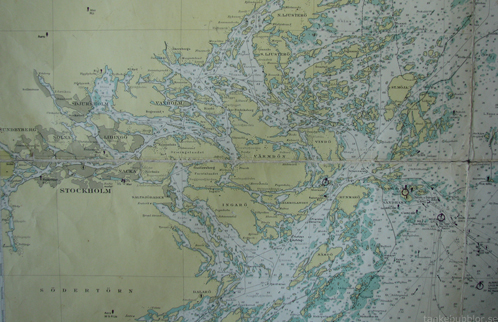 sjökort