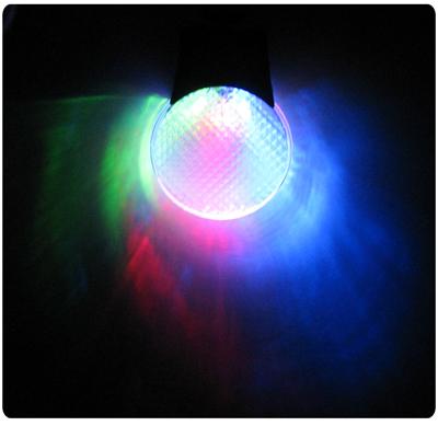 reflex med LED-lampa