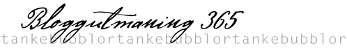 bloggutmaning365
