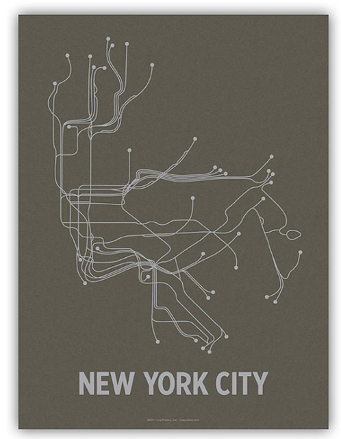 New York Line Posters Etsy