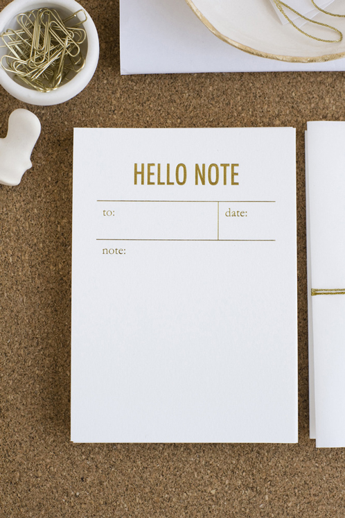 tokketok hello notes