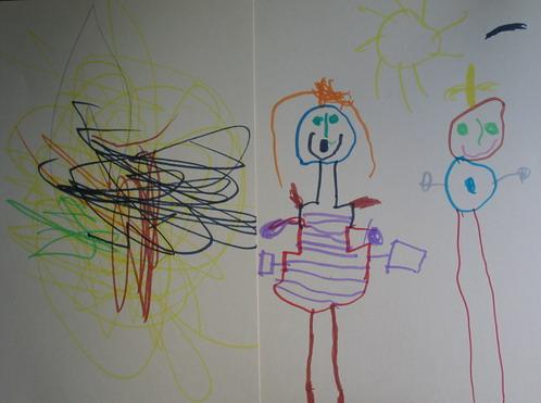 barnens teckningar