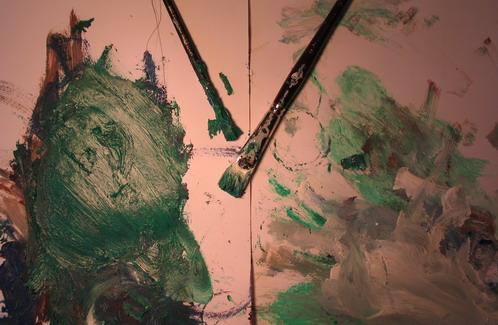 barnens målningar