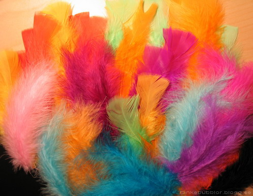 påskris-fjädrar