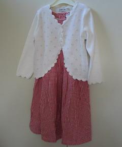 klänning och kofta