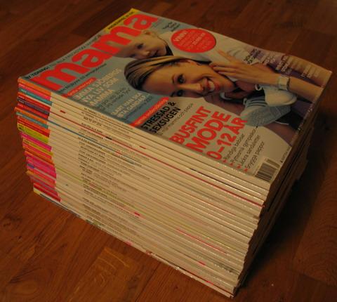 alla mina mama-tidningar