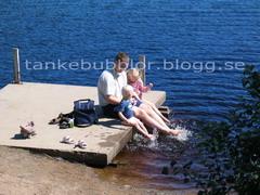 fika vid sjö
