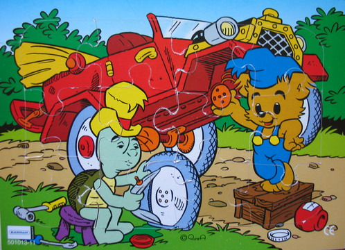 Bamse-pussel