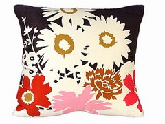 Berry Flower Pillow